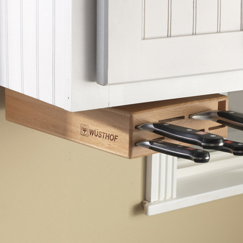 Wusthof Under-Cabinet Knife Block - Eclectic - Knife Storage - by CHEFS