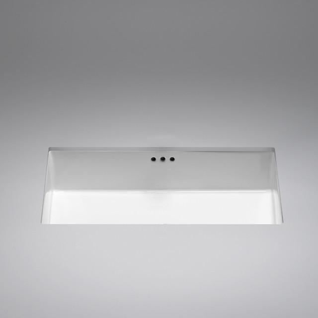box ceramic undermount basin - Modern - Bathroom Sinks ...