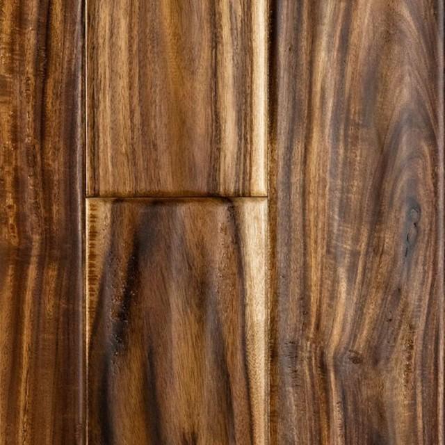 Acacia Handscraped Hardwood Floors New Flooring