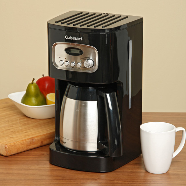 Cuisinart DCC-1150BKFR 10-Cup Programmable Thermal Coffee Maker (Refurbished) - Contemporary ...