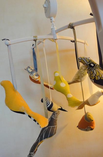 Bird Mobile modern-home-decor