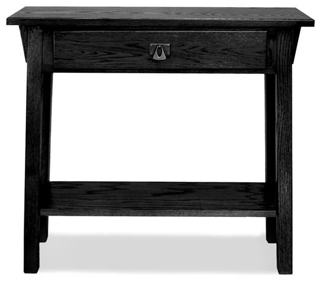 Favorite Finds Mission Hall Stand Table in Sl contemporary-console-tables