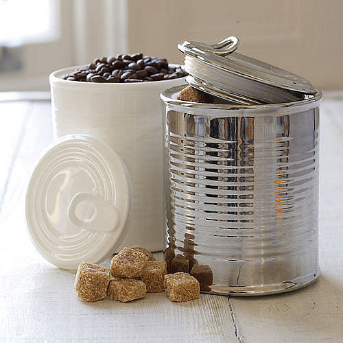 Porcelain Tin Can Storage Jar eclectic-food-containers-and-storage