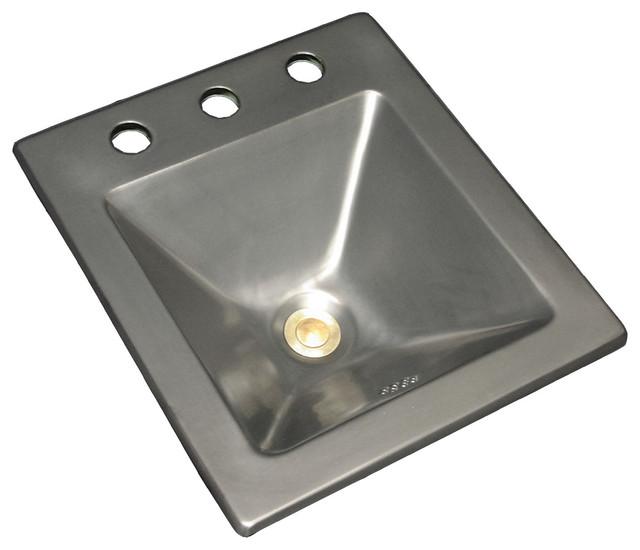 Metallic Glazes bathroom-sinks