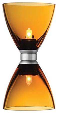 Mini Dome I Twin Blown Glass Chandelier Head - 12V modern-chandeliers