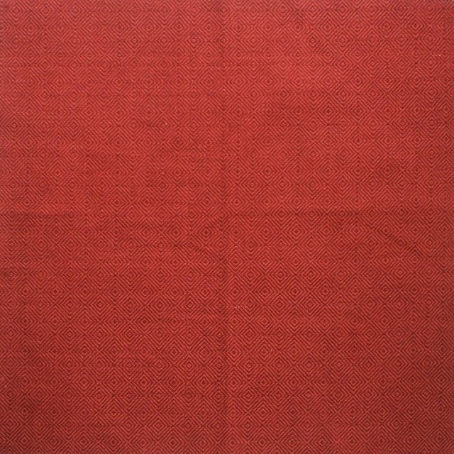 """72"""" Shower Curtain, Unlined, Hanover Geometric Check Claret Red traditional-shower-curtains"""