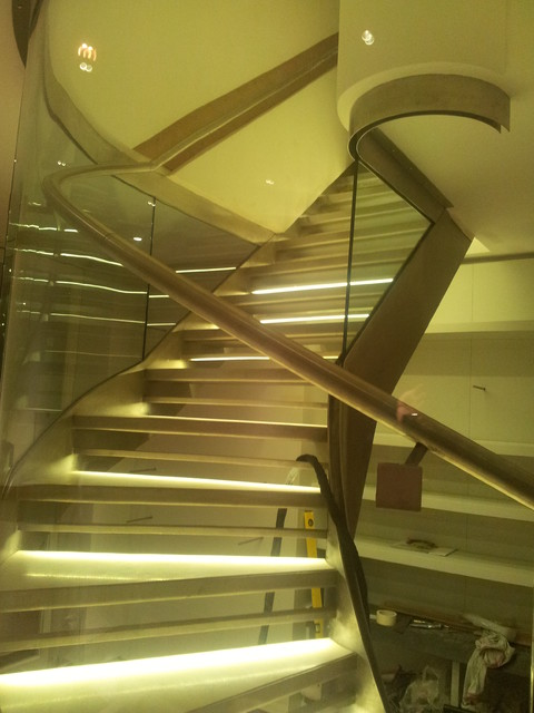 Holland Park - Private Customer modern-staircase