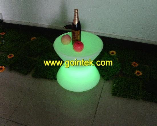 led bar seating stool with colorful led -