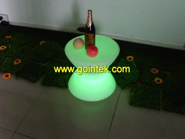 led bar seating stool with colorful led modern-benches