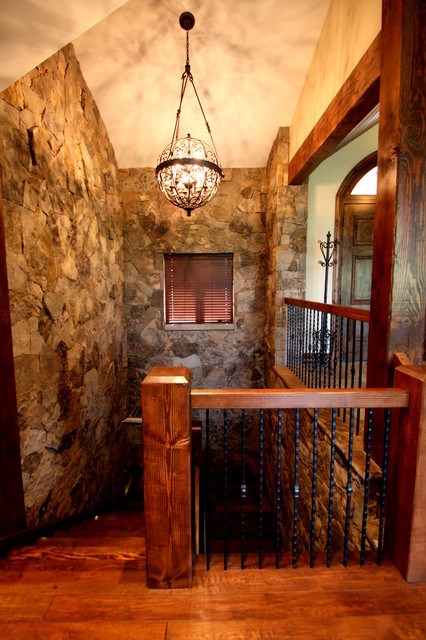952 Gold Run Road traditional-staircase