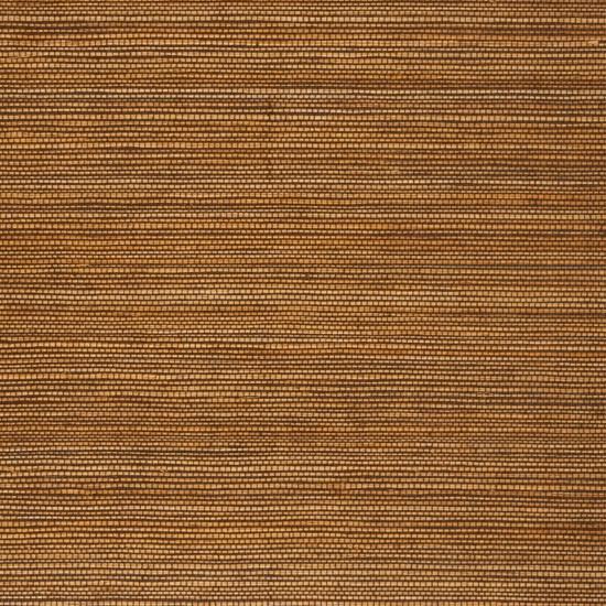 Duo Sisal Bronze Grass Cloth Wallpaper, Sample beach-style-wallpaper
