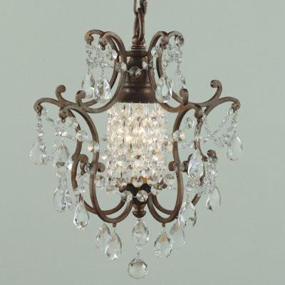 Verdi One Light Chandelier traditional-chandeliers