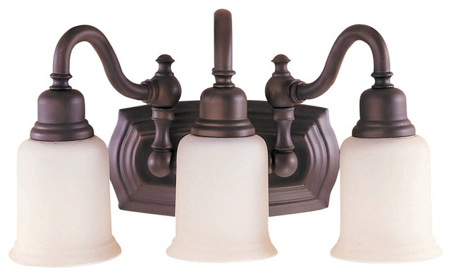 Feiss Canterbury Collection 19 Wide Bathroom Light Fixture Modern Bathroom Vanity Lighting