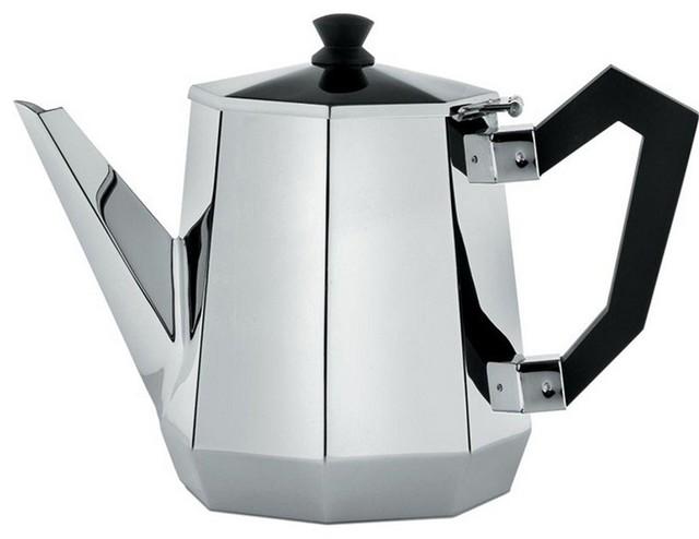 Alessi Ottagonale Teapot contemporary-teapots