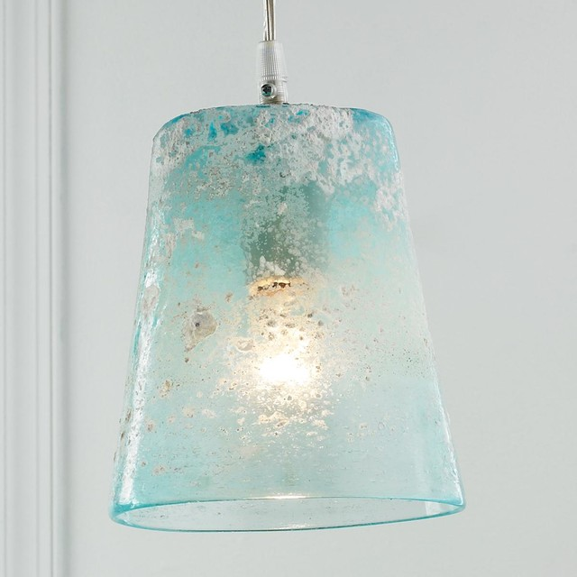Sand Frost Glass Pendant Light