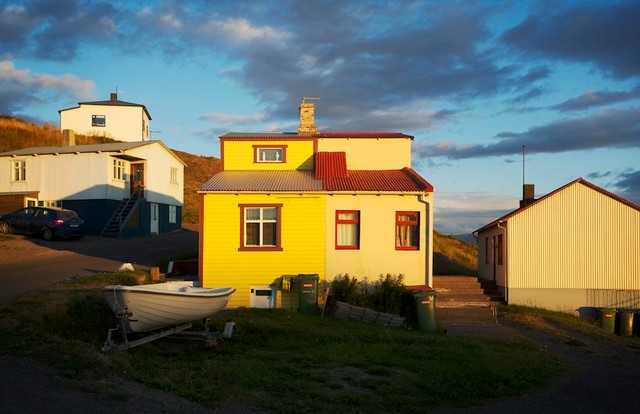 Iceland Homes eclectic-exterior
