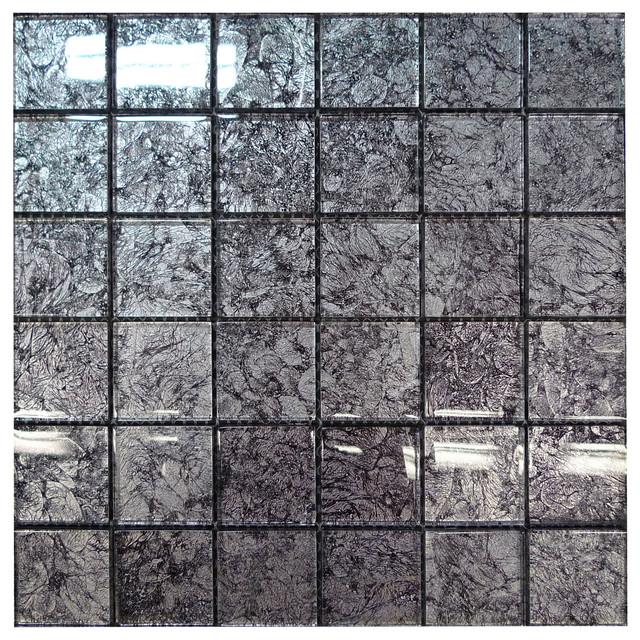 Glass Napier Mosaic Kitchen Tile