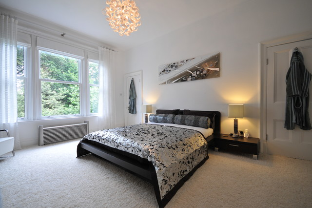 Period property in Manchester contemporary-bedroom