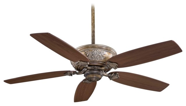 "Traditional 54"" Minka Aire Classica French Beige Ceiling Fan traditional-ceiling-fans"