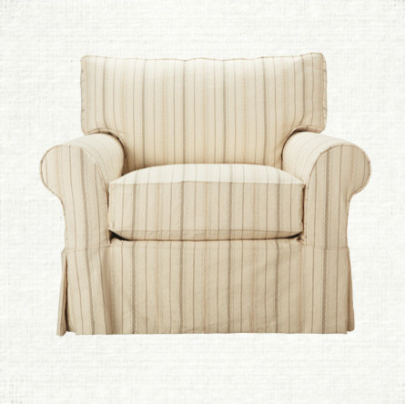contemporary armchairs by Arhaus