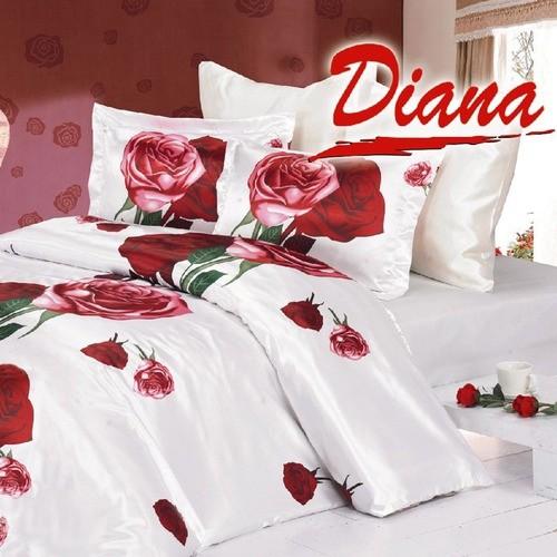 Diana Dear 6 Piece Queen Duvet Cover Bedding Set in White modern-duvet-covers-and-duvet-sets