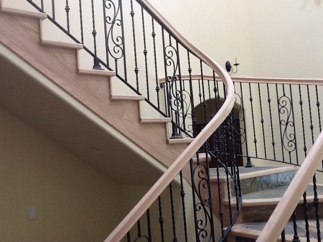 New port beach traditional-staircase