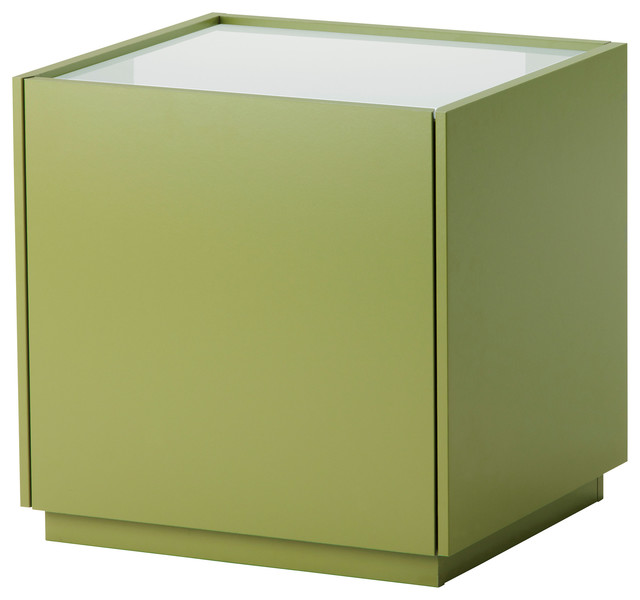 nyvoll bedside table green white contemporain table de chevet et table de nuit par ikea. Black Bedroom Furniture Sets. Home Design Ideas