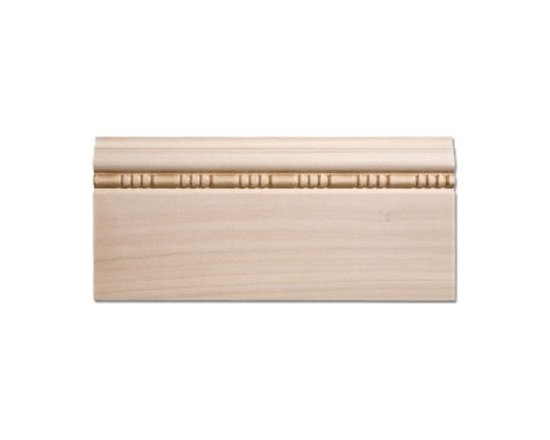 Red Oak Baseboard - 11/16 X 5 1/2 - Cover up uneven edges with this red oak baseboard.