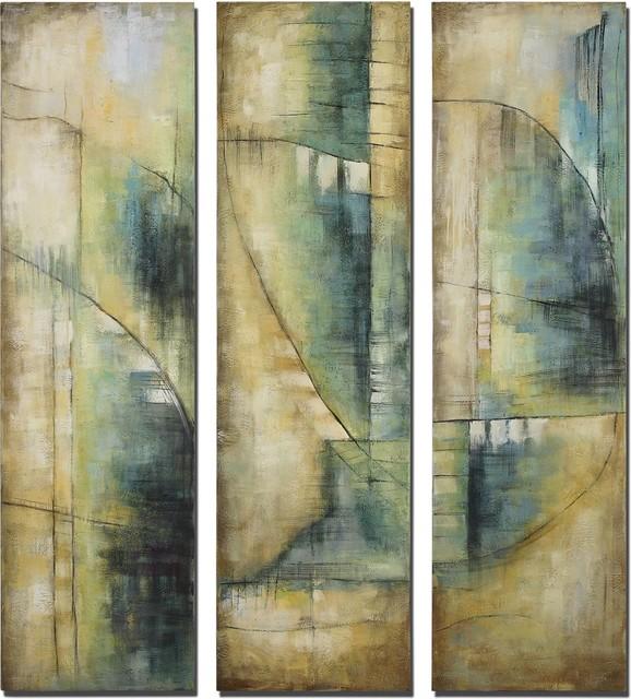 Uttermost Decisions I, II, III, S/3 contemporary-artwork