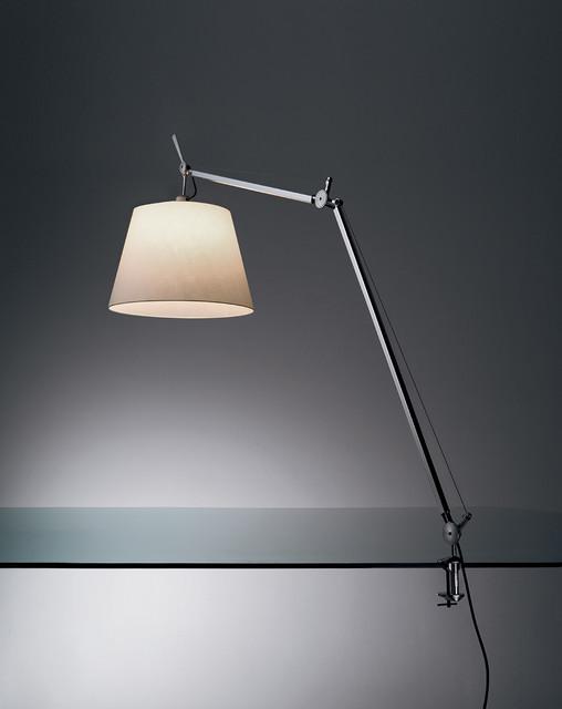 Tolomeo mega clamp, design by Michele De Lucchi, Giancarlo Fassina - 2004 modern-table-lamps