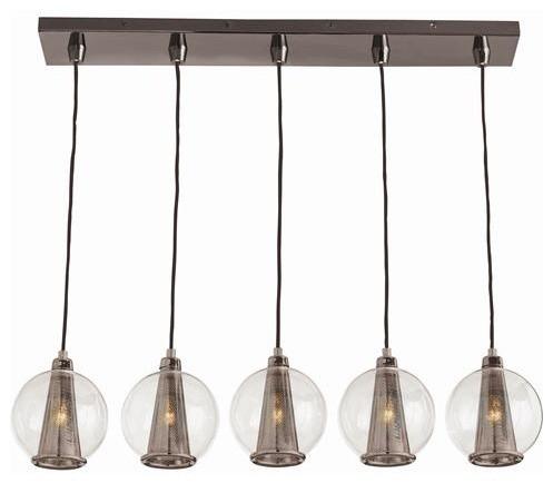 Arteriors caviar fixed linear pendant traditional pendant lighting by candelabra - Caviar pendant light ...