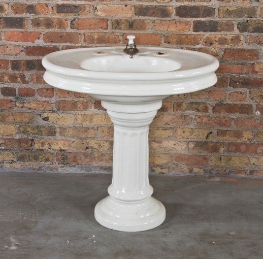 Vintage Bathrooms Traditional Bathroom Sinks chicago