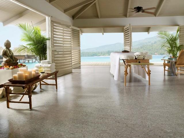 Linorette brand linoleum flooring from Armstrong tropical-floors