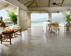 Linorette brand linoleum flooring from Armstrong tropical floors