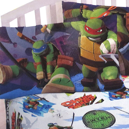 Tmnt Ninja Turtles Training 3pc Twin Bed Sheet Set