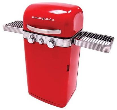 Memphis Retro BBQ Grill eclectic-grills