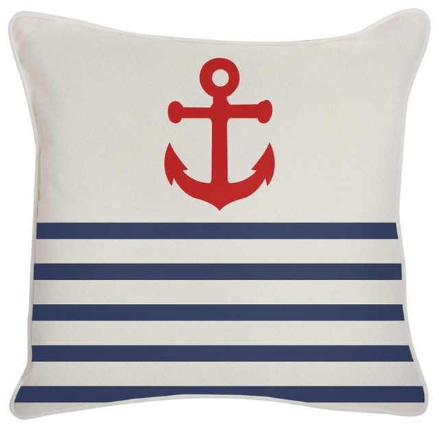 Thomas Paul Anchor Lava Outdoor Pillow traditional-outdoor-cushions-and-pillows