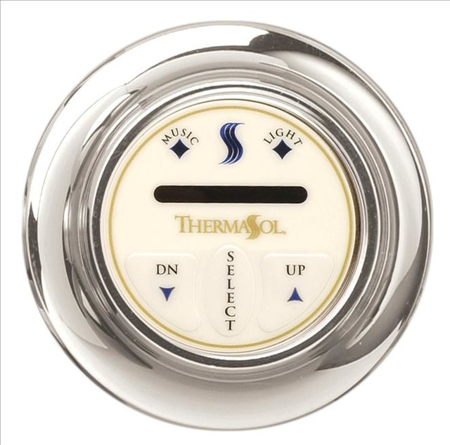 Thermasol TPT-WHT Temp Touch Plus Control contemporary-showers