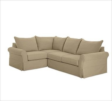 Pb comfort roll arm right 3 piece sectional slipcovers for 3 piece sectional sofa slipcovers