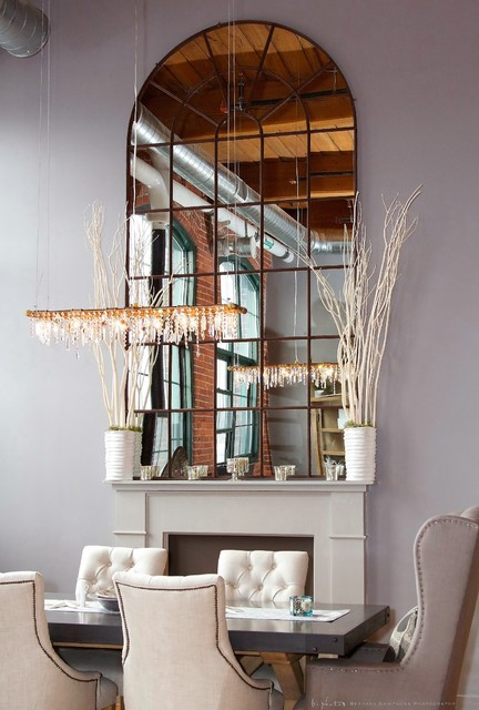 Bar or Kitchen Chandelier industrial-dining-room