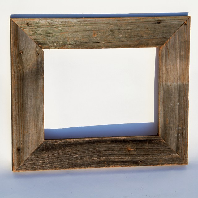 Reclaimed wood creations eclectic picture frames by for 11x14 table top frame
