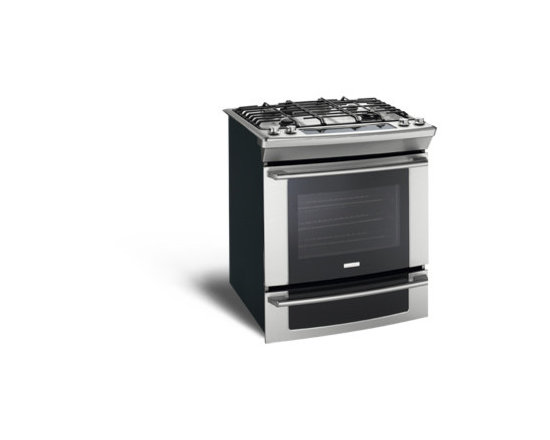 """30"""" Dual-Fuel Built-In Range with Wave-Touch® Controls by Electrolux - Min-2-Max® Gas Burner"""