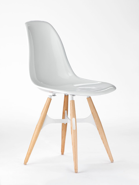 Zigzag Side Chair by Kubikoff contemporary-dining-chairs