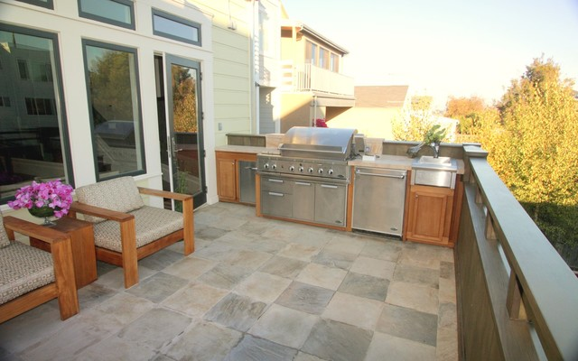 Noe Valley adition and remodel eclectic-exterior