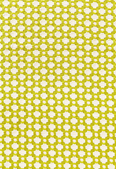 Betwixt in Chartreuse/Ivory fabric