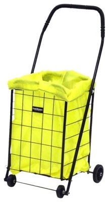 Narita Hooded Carry-Liner, Yellow, Mini contemporary