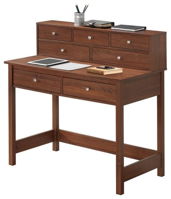 Techni Mobili Elegant Desk/Hall Table with Storage ...