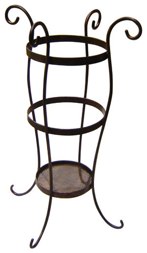 Iron Artistica Umbrella Stand transitional-coat-stands-and-umbrella-stands