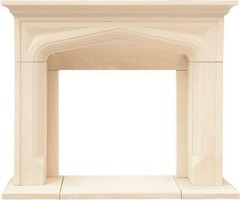 Chateau Series Pisa 48 in. x 62 in. Cast Stone Mantel-CP14003 at The Home Depot