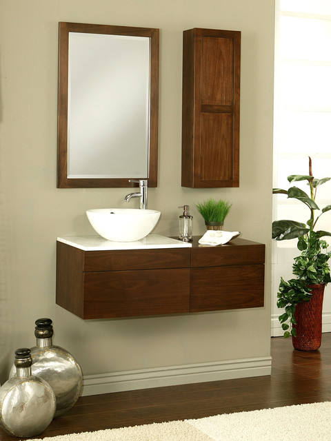 "24"" Modesta Wall-Mount Vanity modern-bathroom-vanities-and-sink-consoles"